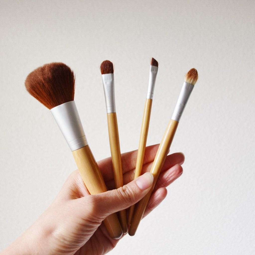 Mes pinceaux de maquillage éthiques et écolo