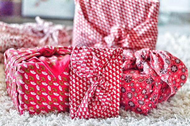 Le furoshiki - L'emballage cadeau écologique