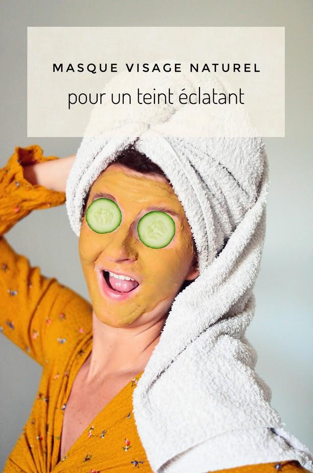masque visage naturel pour un teint éclatant
