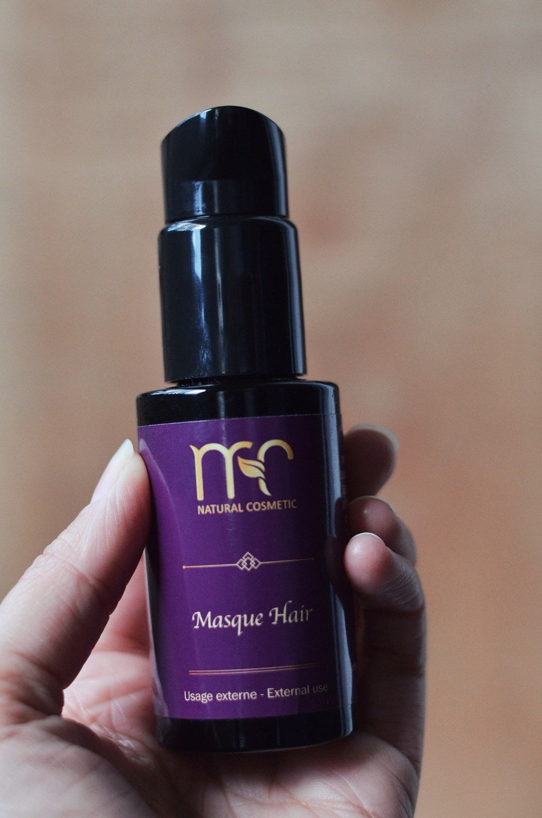 Huile cheveux Masque Hair MC Natural Cosmetic