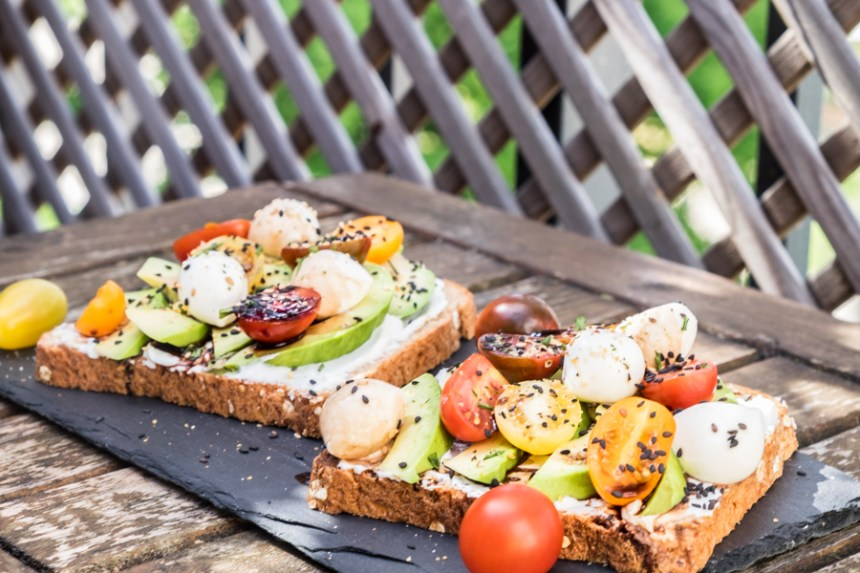AVOCADO TOAST A L'ITALIENNE