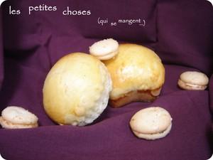 Macarons râtés + brioches déclencheuses de boulimie = nouveau concept