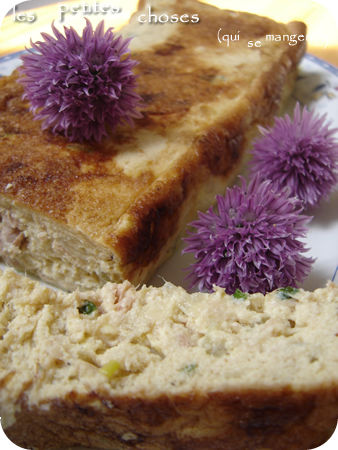 La terrine de thon au tofu soyeux, vous l'avez aimée, la revoilà !