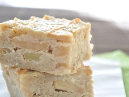 """""""Clafoutis"""" aux pommes et aux flocons de quinoa"""