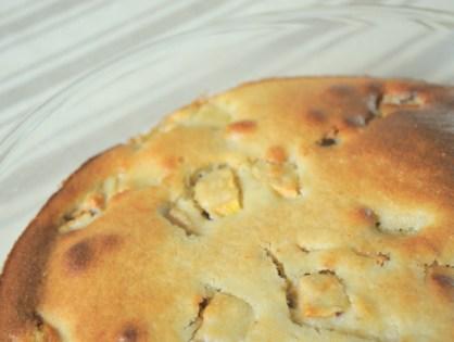 Moelleux pommes et amande (sans gluten, sans lactose)