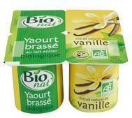 Bio nat', des produits laitiers bio produits en Bretagne