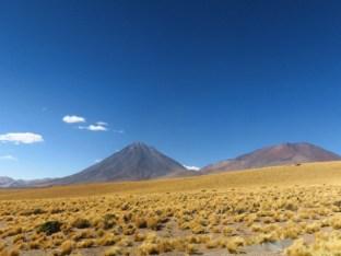 Au pied du volcan Licancabur