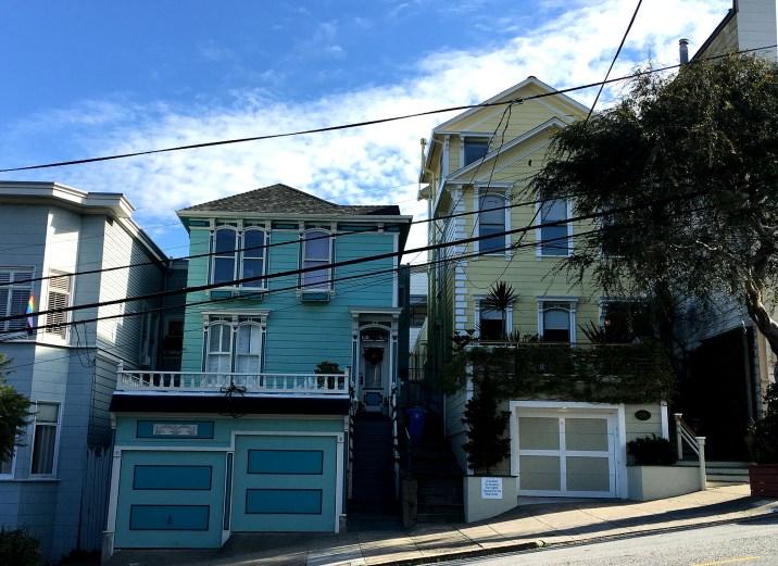 Pas la maison bleue de Maxime (mais ça y ressemble)