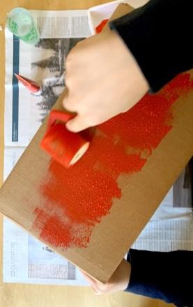On peint