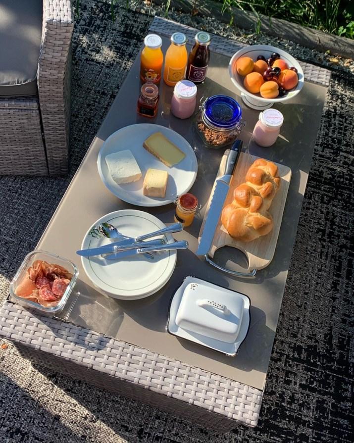 Le petit-déjeuner!