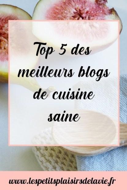 meilleurs blog de cuisine saine top