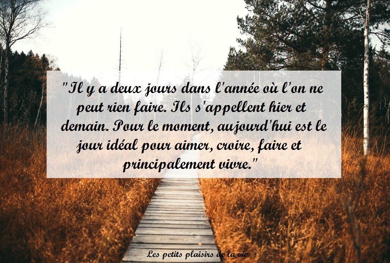 Citation Vivre L Instant Present Blog Bien Etre Les Petits