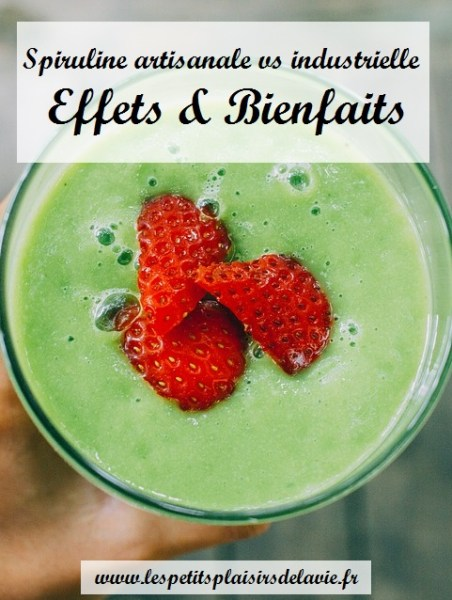 spiruline bienfaits nutriments
