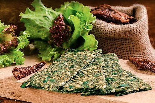 crackers bio spiruline