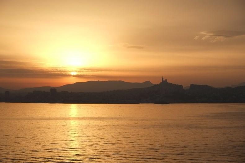 Marseille Lever de Soleil