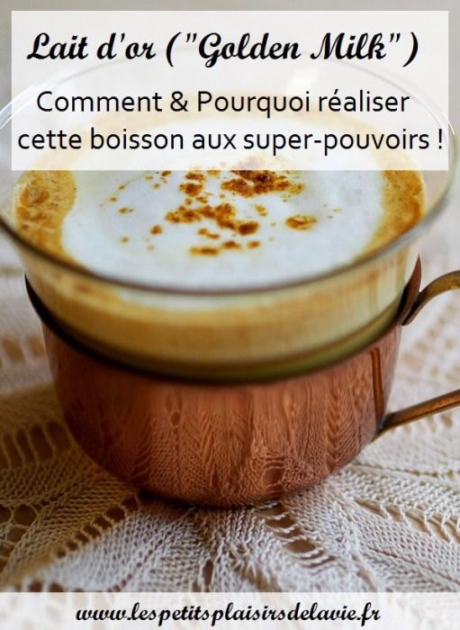 recette lait d'or golden milk