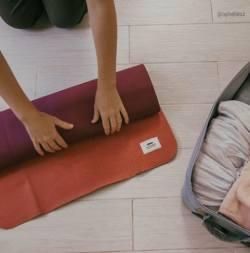 idées cadeaux bien-être tapis de yoga de voyage