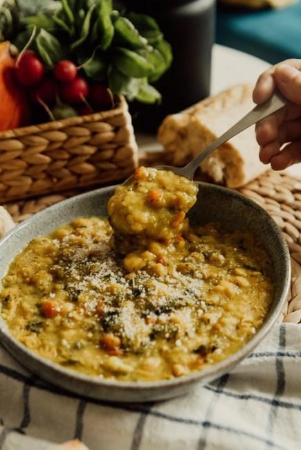 dhal de légumes curry brocoli