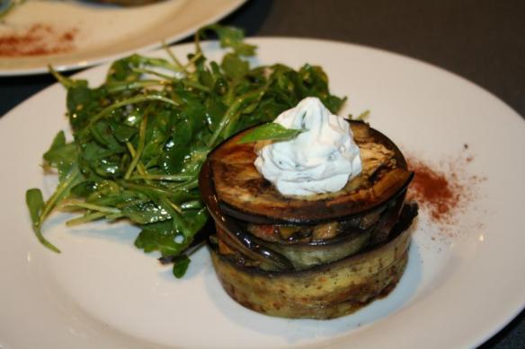 Légumes d'été chantilly basilic