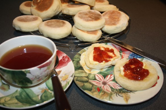 Muffins and tea