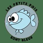 Logo Les Petits Pois sont Bleus