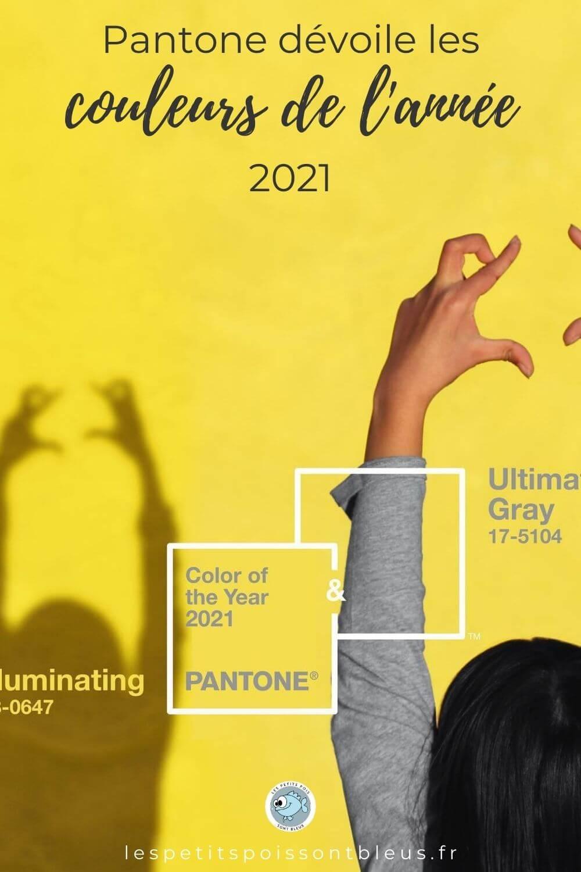 Ultimate Gray et Illuminating couleurs de l'année 2021 chez Pantone