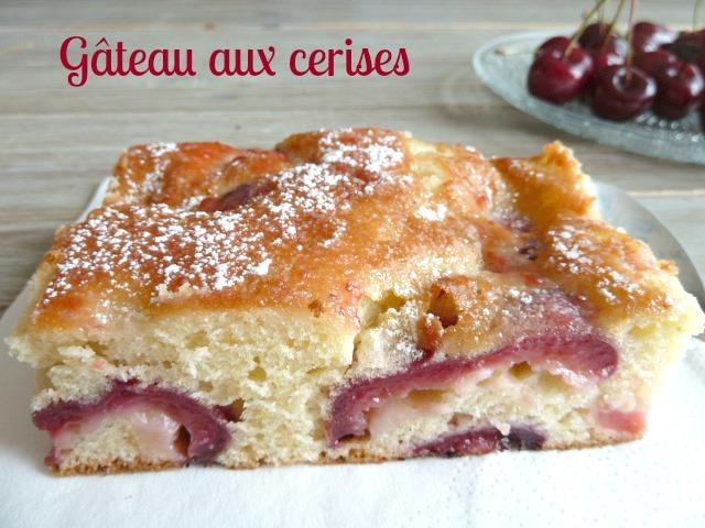 gâteau aux cerises