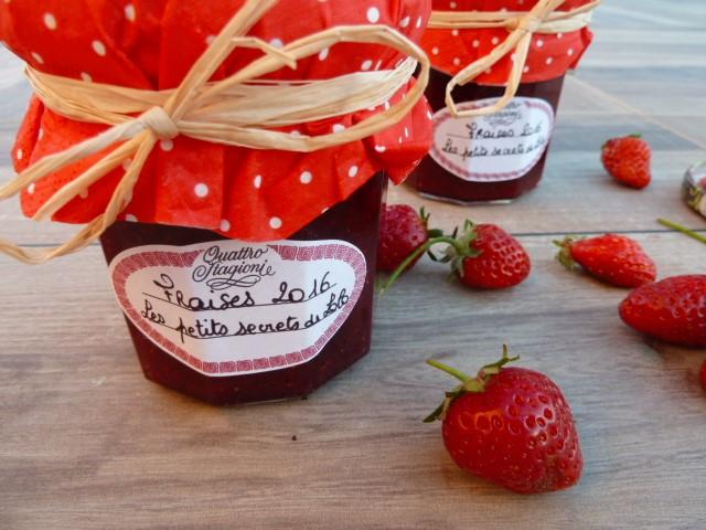 confiture fraises maison