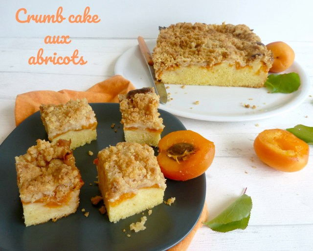 crumb cake aux abricots