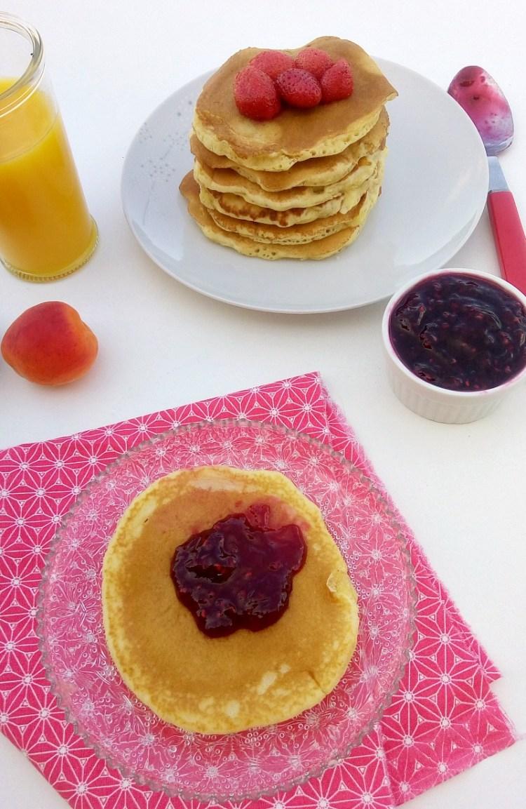 pancakes américain