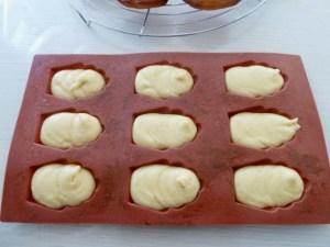 pâte à madeleines