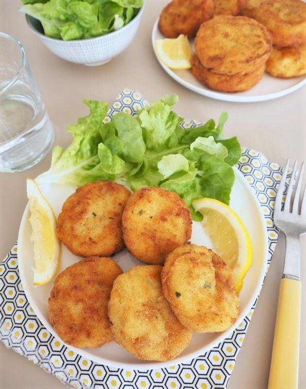croquettes poisson pommes de terre