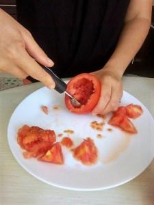 comment vider des tomates pour les farcir