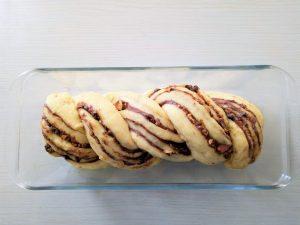brioche krantz cake au chocolat