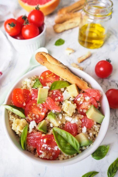 salade de quinoa anti canicule