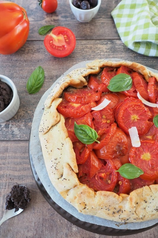 recette de la tarte rustique aux tomates