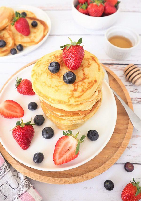 Pancakes de Cyril Lignac