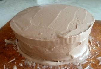 Layer cake nutella 6