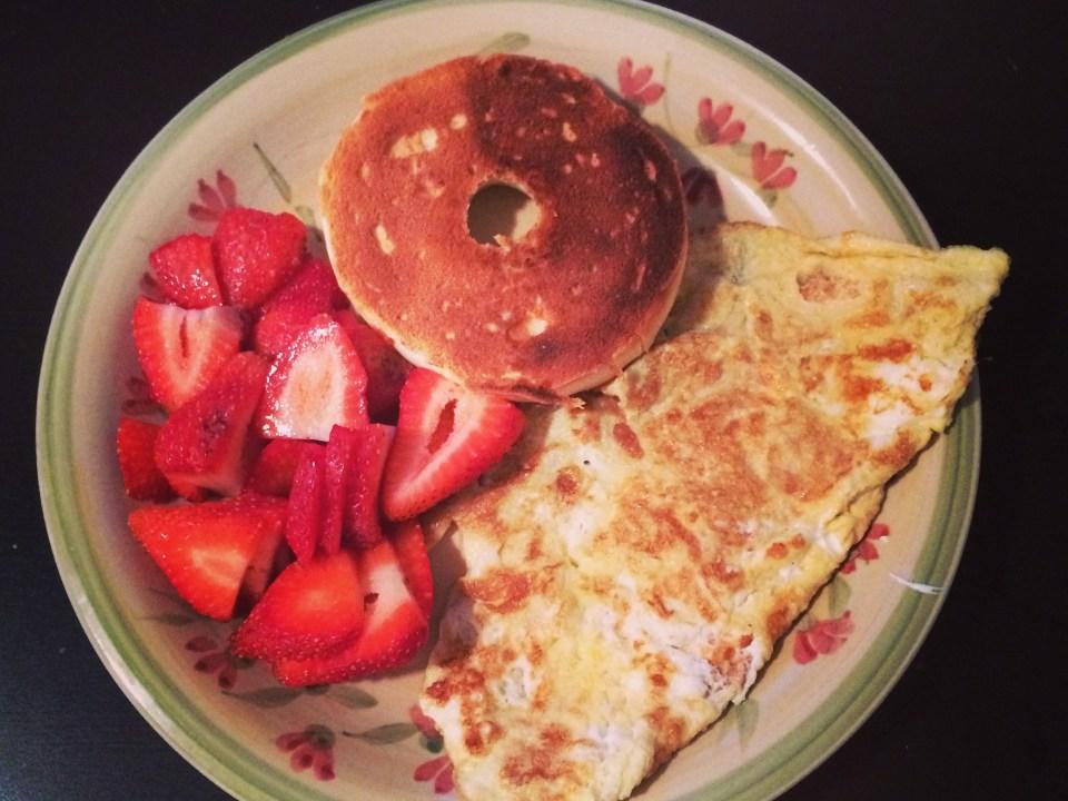 Un brunch santé ou déjeuner plus élaboré qui demeure dans les besoins nutritionnels et l'apport calorique requis pour un bon petit déjeuner!