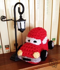 Voiture Cars au crochet 1