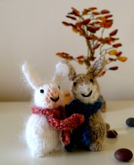 Les Petits lapins tricot