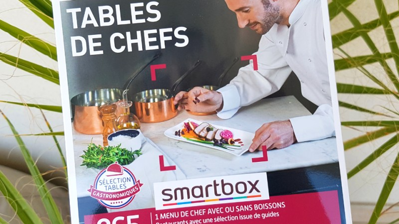 Le coffret cadeau Smartbox : un cadeau parfait pour les gourmands !