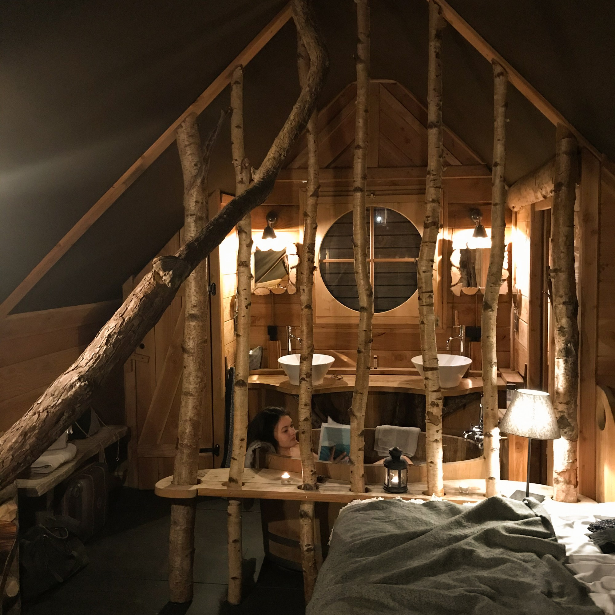 Intérieur Cabane de Rensiwez