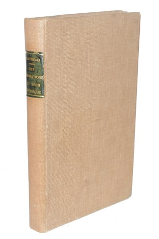 MOREAU DE TOURS, Des Aberrations du sens génésique, 1880