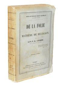 LEFEBVRE, De la Folie en matière de religion, 1886