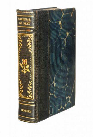 Ch. Letourneau, Pensées du Cardinal de Retz extraites de ses mémoires, Paris, Charpentier et Cie, 1888