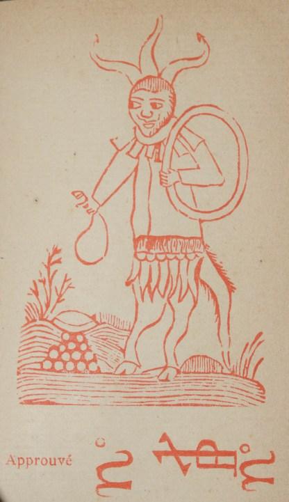 Le Véritable Dragon rouge où il est traité de l'art de commander les esprits infernaux, aériens et terrestres, faire apparaître les morts...plus La Poule noire édition augmentée des secrets de la reine Cléopatre..., sur l'édition de 1521, sd [1875]