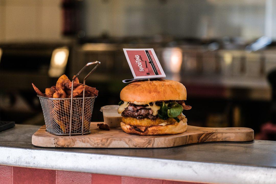 Image Burger frites soirée privée