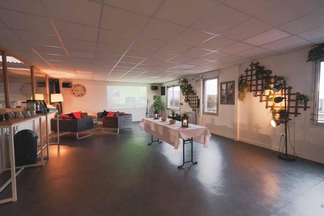 Photo mezzanine pour un séminaire