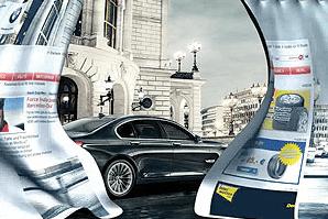 PageMorph BMW advertisement